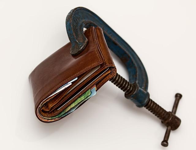 utahování rozpočtu