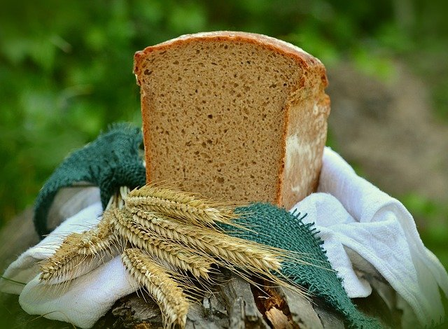chléb z ječmene